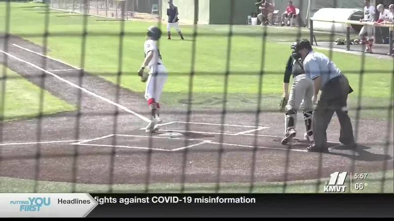 A pair of Twin Falls baseball teams are vying for a state title.