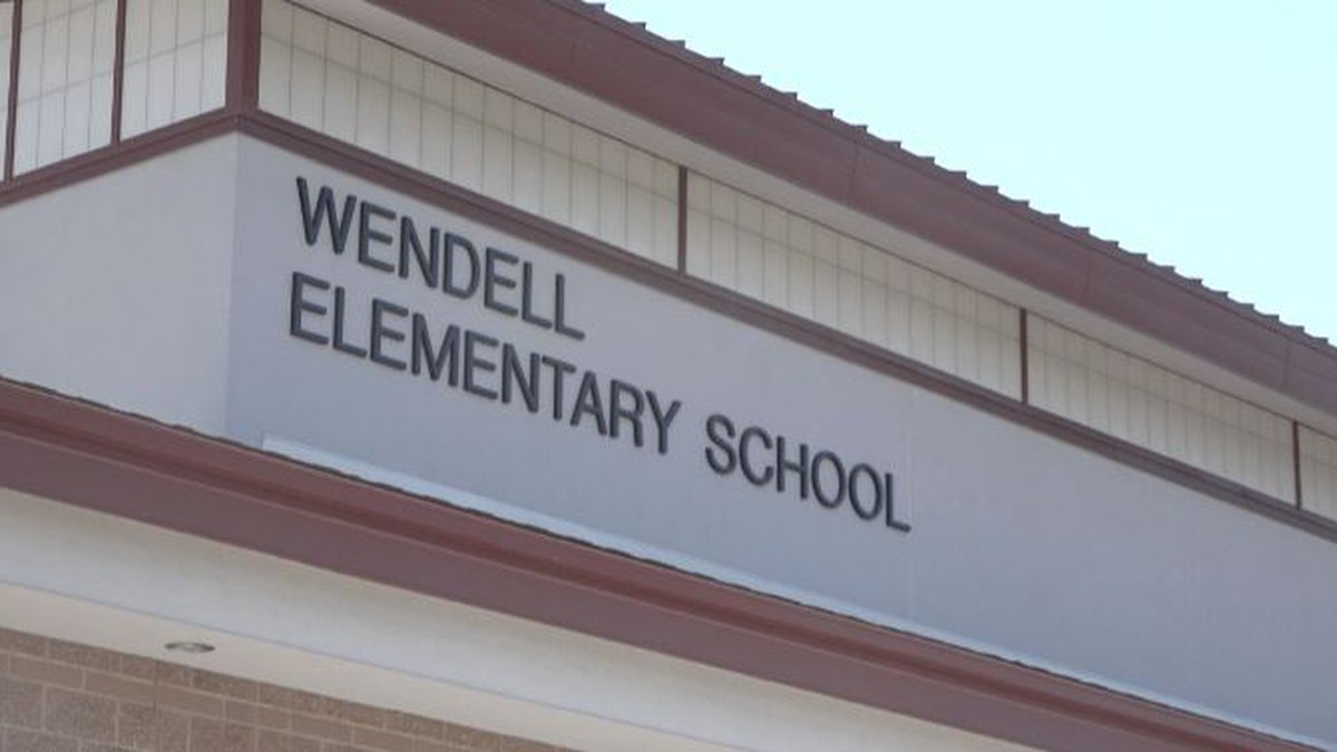 Wendell Elementary School Closed the rest of the week.