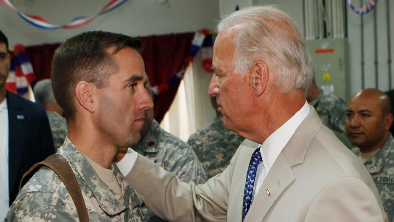 FILE - In this July 4, 2009 file photo, U.S. Vice President Joe Biden, right, talks with his...