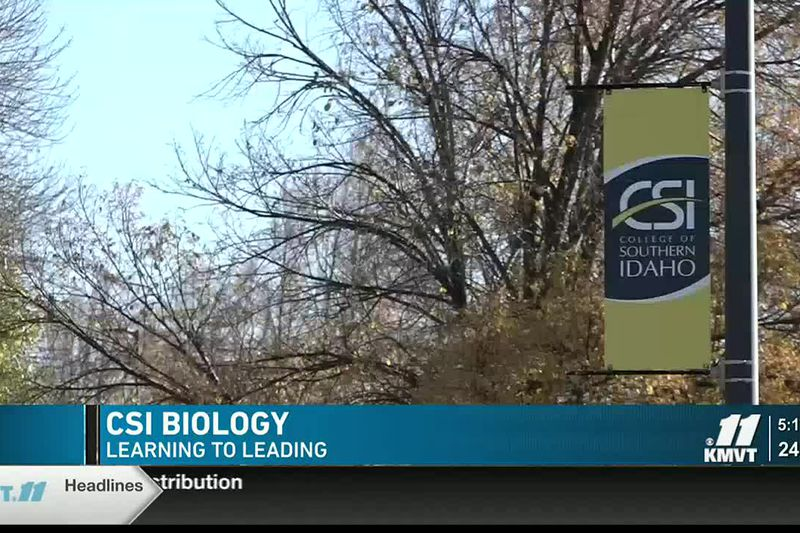 A science program at the College of Southern Idaho is giving students an entry point for a wide...