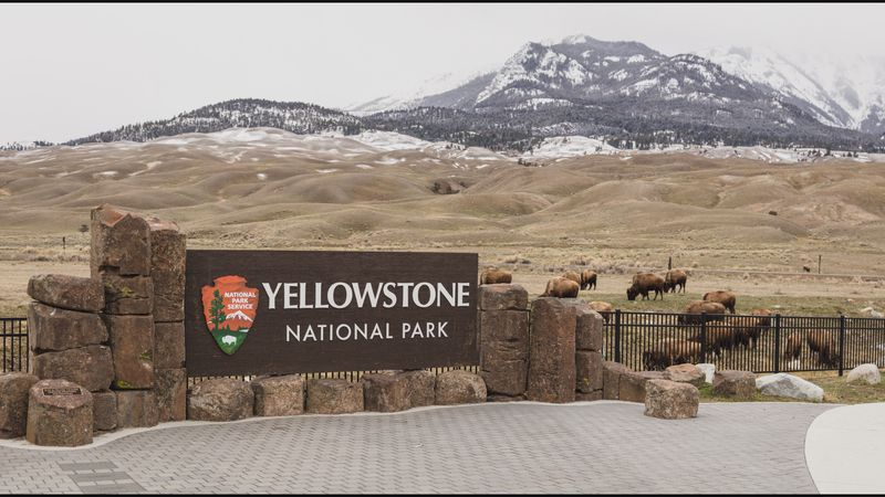 Yellowstone National Park. Image courtesy National Park Service.