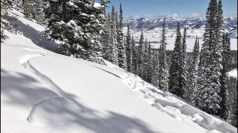 Due to increased temperatures and a weak snow pack, the risk of avalanches has fluctuated lately.