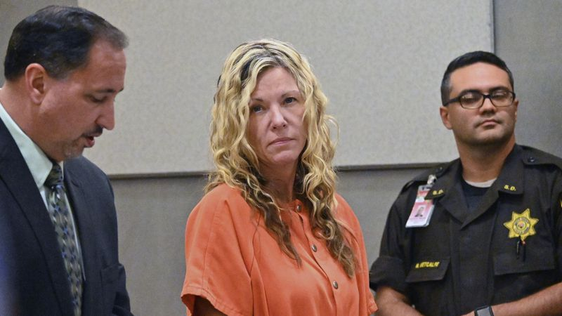 Lori Vallow appears in court in Lihue, Hawaii on Wednesday, Feb. 26, 2020. A judge ruled that...
