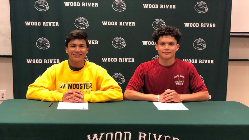 Goalkeeper Atzel Jimenez signed with North Idaho College, while Jaime Avila is going to the...