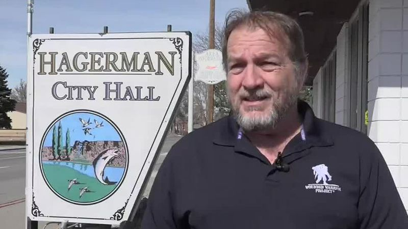 Hagerman has a little less than 600 registered voters, and at least 162 votes were needed to...