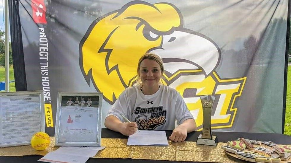 The College of Southern Idaho has just signed the Idaho Gatorade Softball Player of the Year.