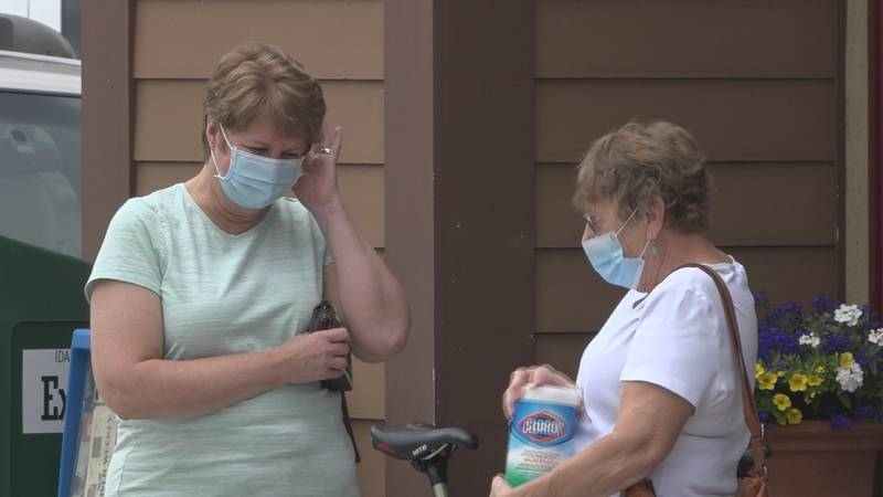 Residents in the city of Hailey are required to wear face masks, or risk getting fined.