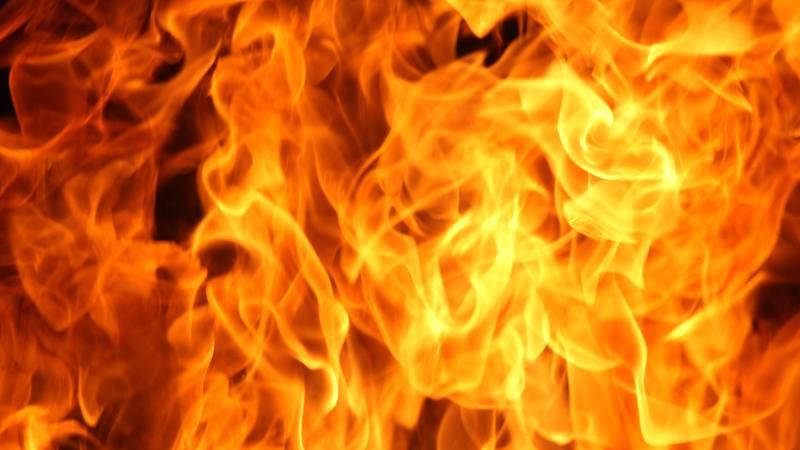 Blaze fire flame texture background.