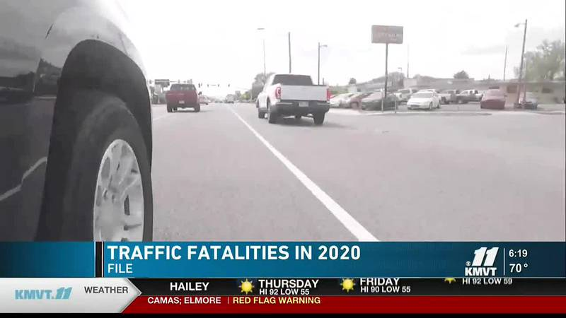 In 2020 Idaho saw the 5th biggest decrease in traffic fatalities in the country