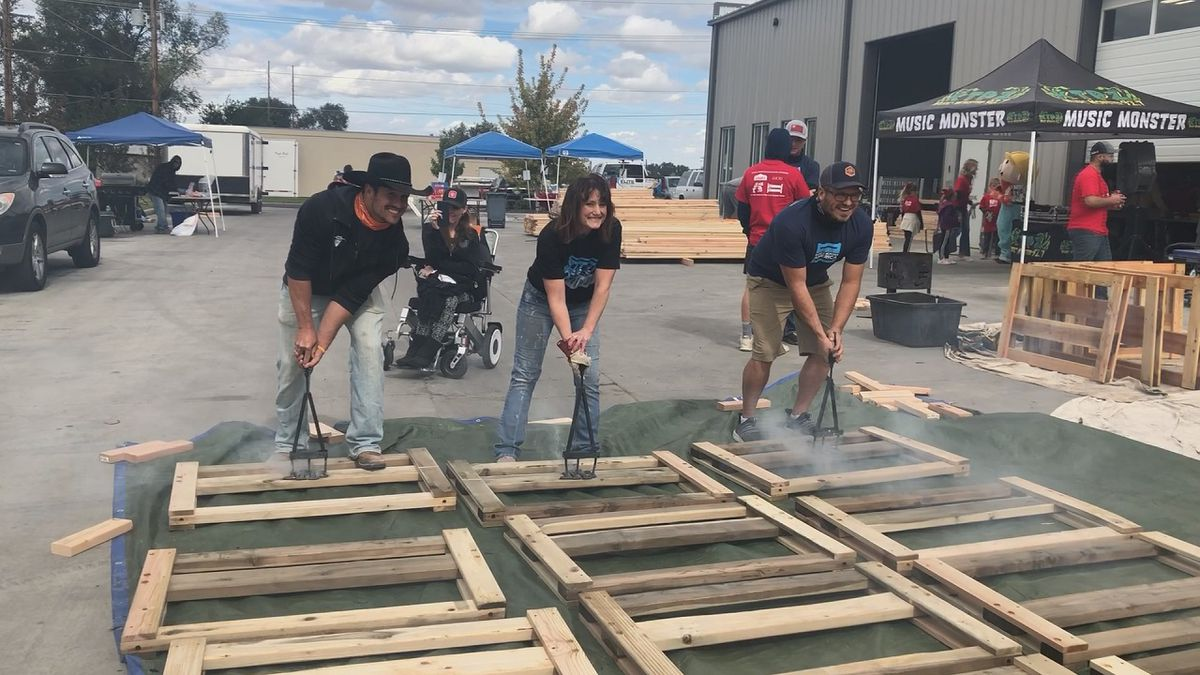 Sleep in Heavenly Peace held their annual build day Saturday, with more than 120 chapters across the country taking part to make sure kids have a bed to call their own.