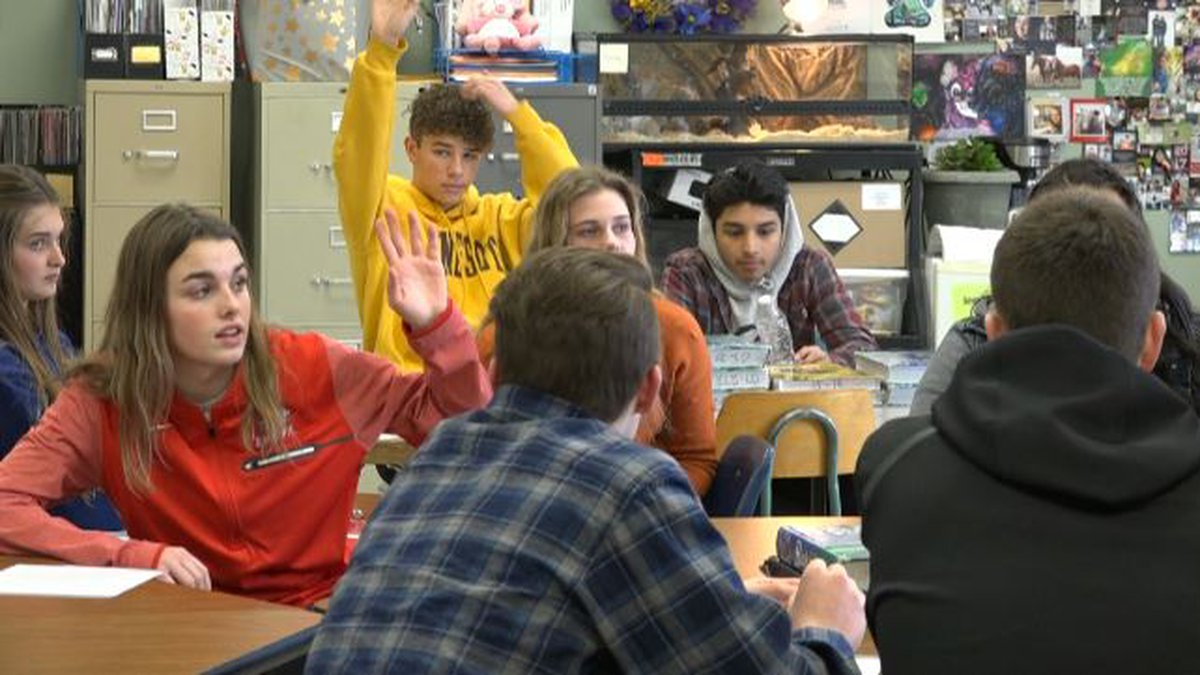 Students at Minico High School are working together to help prevent suicide.