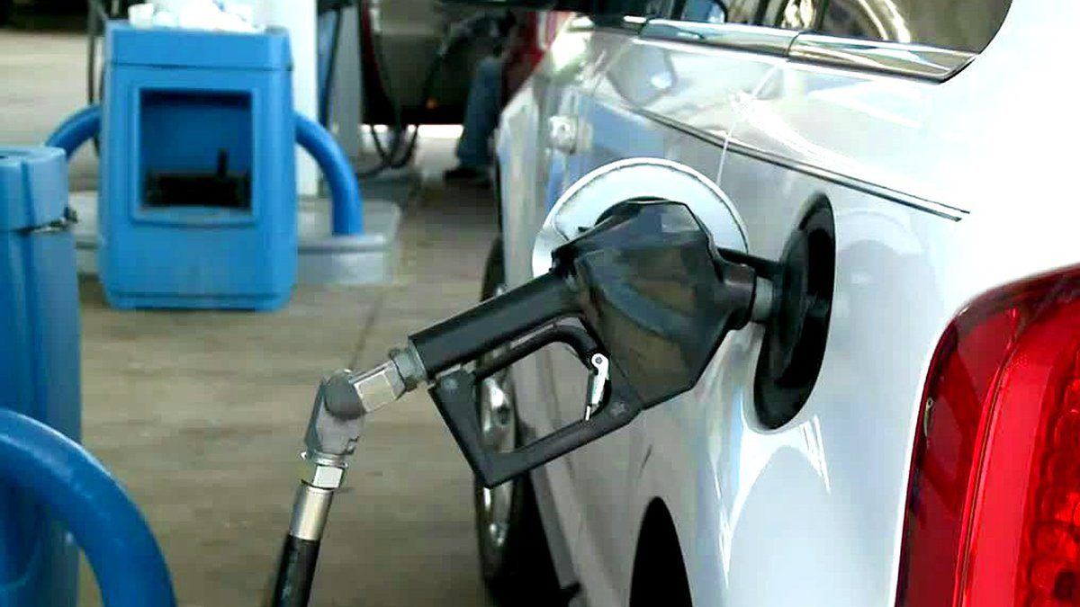 The drop in gas prices has been delayed by Hurricane Ida