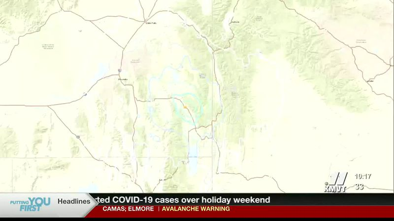 A small earthquake rattled parts of southeast Idaho late Saturday.