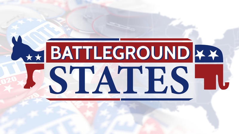 Battleground States is a 24/7 video channel filled with local news segments and campaign...