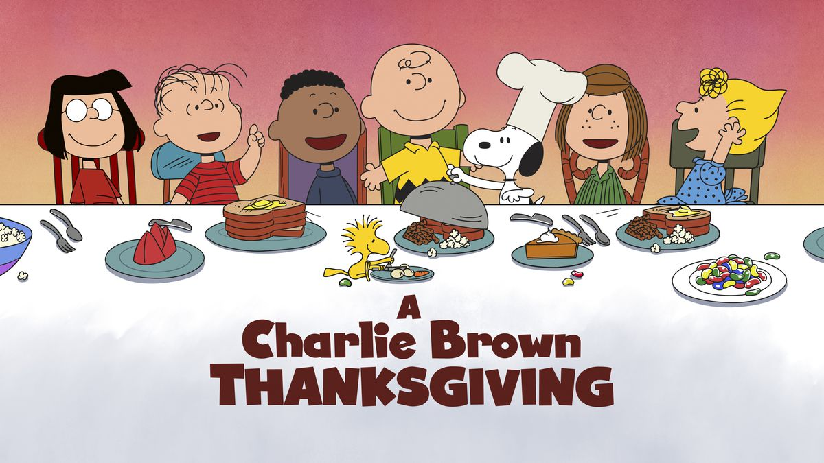 "This image released by Apple shows key art for the animated classic ""A Charlie Brown..."