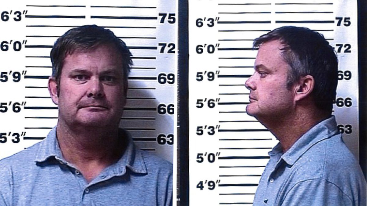 Chad Daybell was arrested booked into the Fremont County jail on Tuesday after human remains...