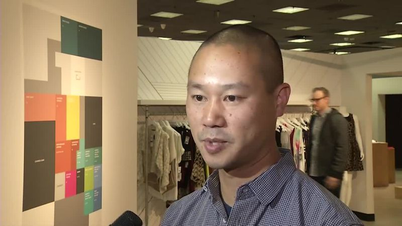 Tony Hsieh, the retired CEO of Las Vegas-based online shoe retailer Zappos.com, who spent years...