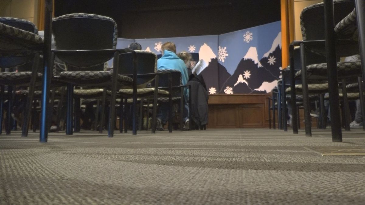 People start to sit down for a performance put on by the Missoula Children's Theater and the Magic Valley Arts Council. (KMVT)