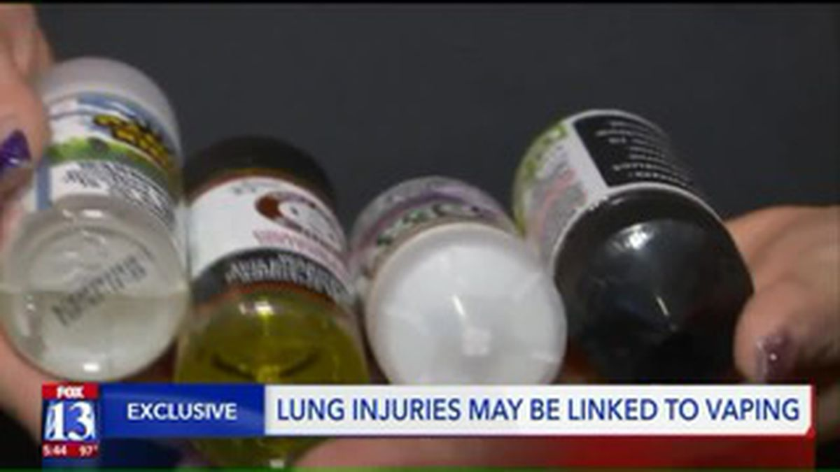 A Utah man is on life support after vaping gave him lipoid pneumonia, his family said (Sourse: CNN VAN/KSTU).