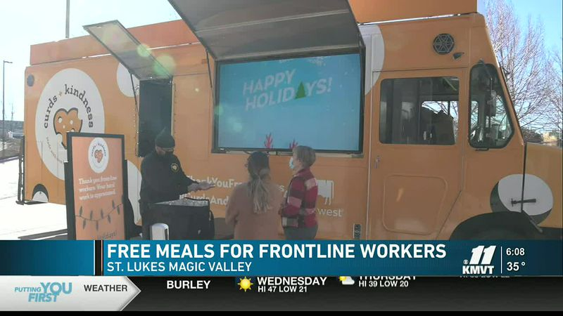 Dairy West is taking its Curds and Kindness food truck on a holiday tour of Idaho and Utah to...