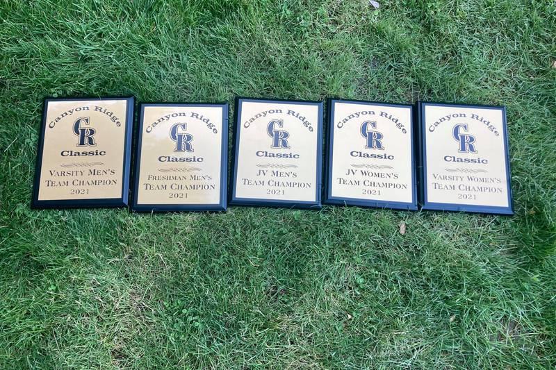 The Twin Falls Bruins won five events at the Canyon Ridge Classic.