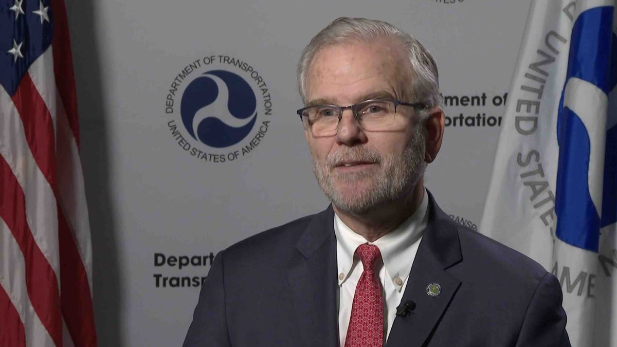 FAA Deputy Administrator, Dan Elwell, talks to Gray DC about the grants given through the Airport Improvement Program. (Source: Gray DC)