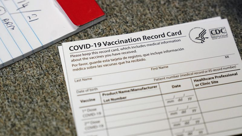 The NBC15 Vaccine Team is answering your questions about eligibility paperwork.  (AP Photo/Jeff...