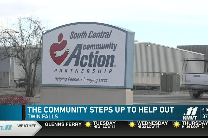 The South Central Community Action Partnership in Twin Falls sees the community stepping up for...