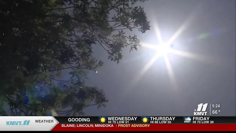 WIth summer getting closer the health district is warning about the dangers the sun can have on...