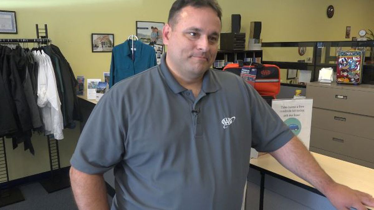 Matthew Conde from AAA in Boise speaks about what the reasons are for a car overheating in the...