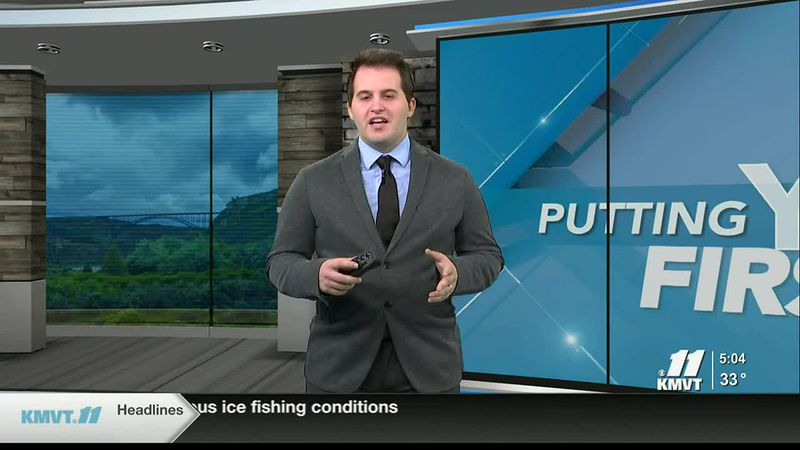 Recent warm weather has caused dangerous ice fishing conditions