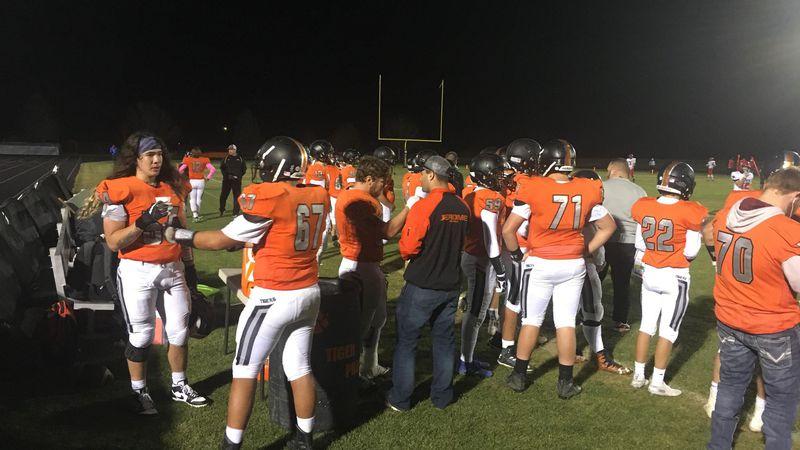 Jerome hosted Moscow in the 4A quarterfinal on Friday night.