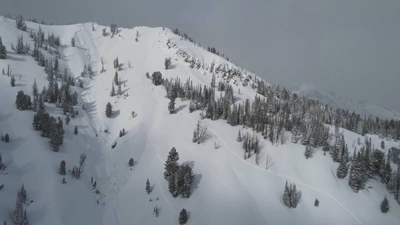 A snowmobiler has been killed in an avalanche Northwest of Ketchum. (Credit: Sawtooth Avalanche...