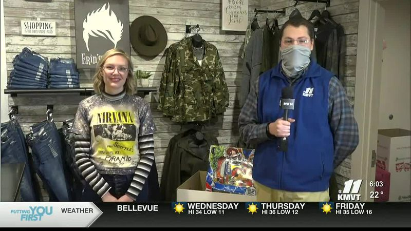 KMVT meteorologist is live at Fashion 15 which is collecting toys for this year's Twin Falls...