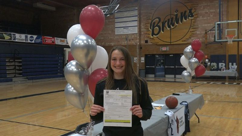 A Twin Falls Bruin signed her National Letter of Intent with North Idaho College.
