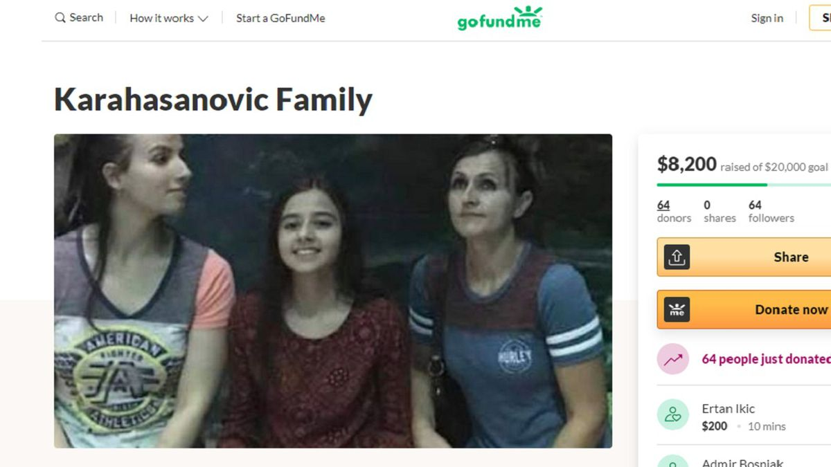 A Gofundme page has been set up for the family involved in a deadly crash Saturday morning west of Filer.