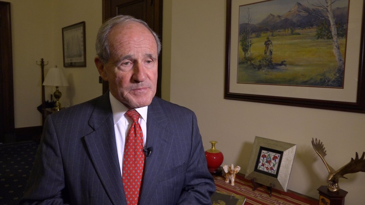 Sen. Jim Risch (R-ID) comments on the Saturday drone strike on Saudi Arabia oil fields on...