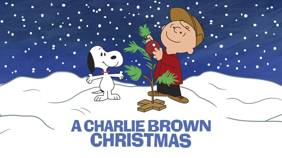 "This image released by Apple shows key art for the animated classic ""A Charlie Brown Christmas""..."