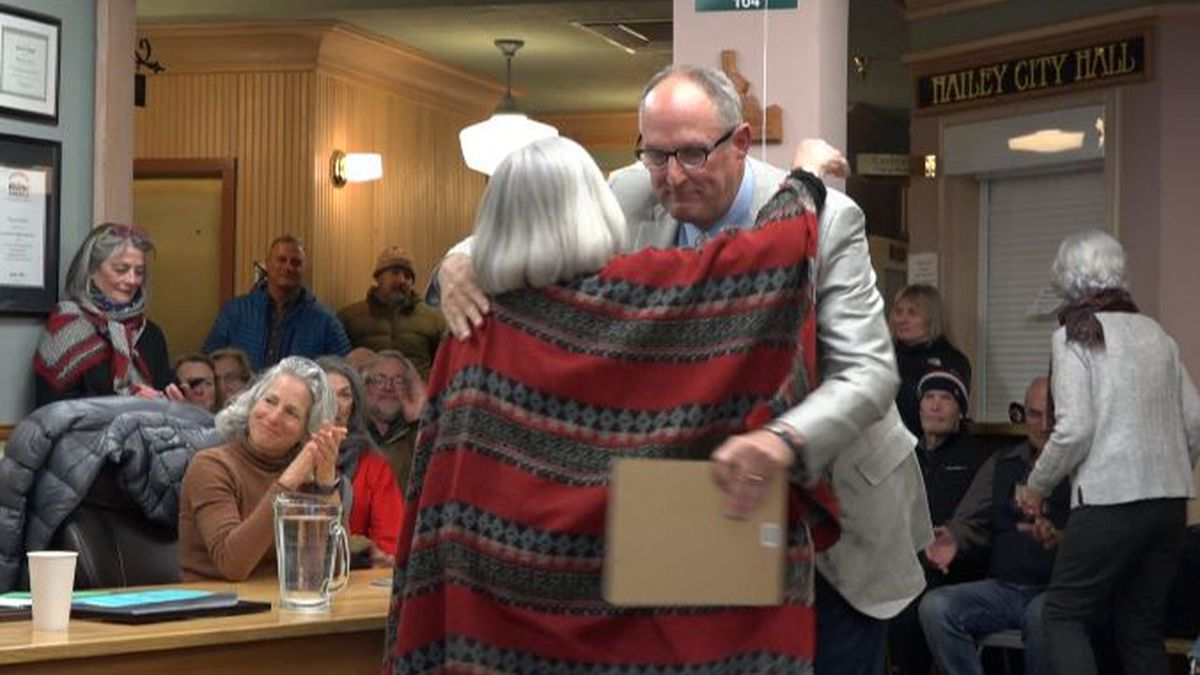 Now former mayor Fritz Haemmerlee passed the torch to Martha Burke who has been on city council for 26 years… but he couldn't leave without offering some advice for the future.